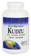 Planetary Herbals - Kudzu Full Spectrum 750 mg. - 240 Tablets