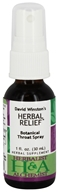 Herbalist & Alchemist - Herbal Relief Botanical Throat Spray - 1 oz.