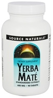 Source Naturals - Yerba Mate Standardized Extract 600 mg. - 90 Tablets