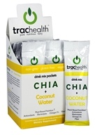TracHealth - Chia + Coconut Water Drink Mix - 12x 0.54 oz. Packs