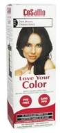 CoSaMo - Love Your Color Non-Permanent Hair Color 779 Dark Brown - 3 oz.