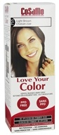 CoSaMo - Love Your Color Non-Permanent Hair Color 755 Light Brown - 3 oz.
