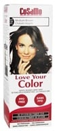 CoSaMo - Love Your Color Non-Permanent Hair Color 765 Medium Brown - 3 oz.