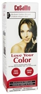 CoSaMo - Love Your Color Non-Permanent Hair Color 778 Medium Golden Brown - 3 oz.
