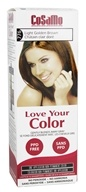 CoSaMo - Love Your Color Non-Permanent Hair Color 776 Light Golden Brown - 3 oz.