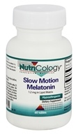 Nutricology - Slow Motion Melatonin 1.2 mg. - 60 Tablets