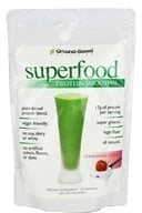 Ground-Based Nutrition - Superfood Protein Smoothie Strawberry Creme - 1 lb.