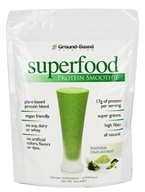 Ground-Based Nutrition - Superfood Protein Smoothie Natural Unflavored - 1 lb.