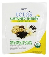 Tera's Whey - Sustained Energy Blend Bourbon Vanilla - 1 oz.