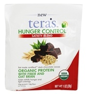 Tera's Whey - Hunger Control Satiety Blend Fair Trade Certified Dark Chocolate Cocoa - 1 oz.