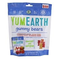 Yummy Earth - Organic Gluten Free Gummy Bears - 5 Pack(s)