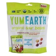 Yummy Earth - All Natural Gluten Free Sour Jelly Beans - 5 Pack(s)