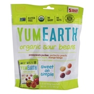 Yum Earth - All Natural Gluten Free Sour Jelly Beans - 5 Pack(s)