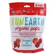 Yummy Earth - Organic Gluten Free Pops - 20 Lollipop(s)