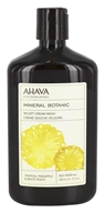 AHAVA - Mineral Botanic Cream Wash Tropical Pineapple & White Peach - 17 oz.