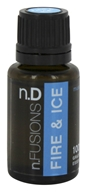 Nature's Fusions - Fire & Ice Therapeutic Essential Oil Muscle Blend - 15 ml.