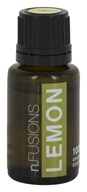 Nature's Fusions - Lemon Therapeutic Essential Oil - 15 ml.