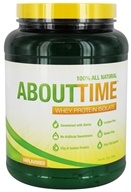 About Time - Whey Protein Isolate Unflavored - 2 lbs.