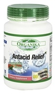 Organika - Antacid Relief Peppermint Flavor - 90 Chewable Tablets