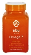 Sibu Seven - Omega 7 Sea Buckthorn Fruit Oil - 60 Vegetarian Softgels