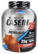 ANSI (Advanced Nutrient Science) - 100% Micellar Casein 25 Protein Powder Rich Chocolate - 4 lbs.