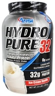 ANSI (Advanced Nutrient Science) - Hydro Pure 32 Whey Protein Isolate Powder Ice Cream Vanilla - 3 lbs.