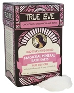 Valentina's Home Brewed - Magickal Mineral Bath Salts True Love - 12 oz.