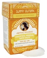 Valentina's Home Brewed - Magickal Mineral Bath Salts Sunny Outlook - 12 oz.