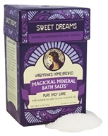 Valentina's Home Brewed - Magickal Mineral Bath Salts Sweet Dreams - 12 oz.