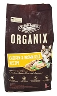 Castor & Pollux - Organix Dry Cat Food Chicken & Brown Rice - 4 lbs.