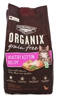 Castor & Pollux - Organix Healthy Kitten Growing Cat Food - 4 lbs.