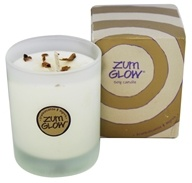 Indigo Wild - Zum Glow Soy Candle in a Glass Frankincense & Myrrh - 7 oz.