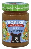 Crofter's Organic - Just Fruit Spread Organic Seville Orange - 10 oz.