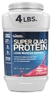 Inner Armour Blue - Super Quad Protein Strawberry - 4 lbs.