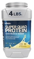 Inner Armour Blue - Super Quad Protein Vanilla - 4 lbs.