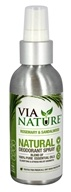 Via Nature - Natural Deodorant Spray Rosemary & Sandalwood - 4 oz.