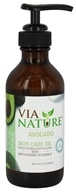 Via Nature - Skin Care Oil Avocado - 4 oz.