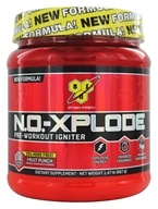 BSN - N.O.-Xplode Pre-Workout Igniter Bonus Size Fruit Punch 36 Servings - 1.47 lbs.
