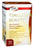 Origin New Zealand - Timeless Beauty New Zealand Marine Collagen & Antioxidants - 60 Capsules