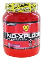 BSN - N.O.-Xplode Pre-Workout Igniter Bonus Size Watermelon 60 Servings - 2.45 lbs.