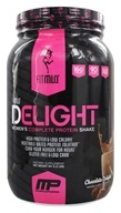 FitMiss - Delight Women's Complete Protein Shake Chocolate Delight - 2 lbs.
