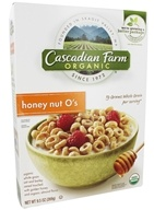 Cascadian Farm - Organic Cereal Honey Nut O's - 9.5 oz.