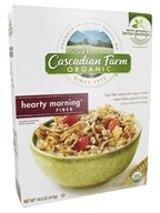 Cascadian Farm - Organic Cereal Hearty Morning Fiber - 14.6 oz.