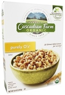 Cascadian Farm - Organic Cereal Purely O's - 8.6 oz.