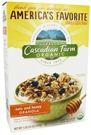 Cascadian Farm - Organic Granola Cereal Oats & Honey - 16 oz.