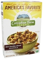 Cascadian Farm - Organic Granola Cereal Dark Chocolate Almond - 13.25 oz.