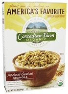 Cascadian Farm - Organic Granola Cereal Ancient Grains - 12.5 oz.