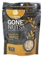 Living Intentions - Gone Nuts! Raw & Sprouted Nut Blends Mesquite Pod Maple Walnuts - 3 oz.