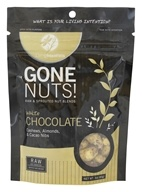 Living Intentions - Gone Nuts! Raw & Sprouted Nut Blends White Chocolate Cashews, Almonds, & Cacao Nibs - 3 oz.