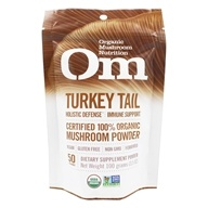 Om - Turkey Tail Organic Mushroom Powder - 3.57 oz. Formerly Mushroom Matrix